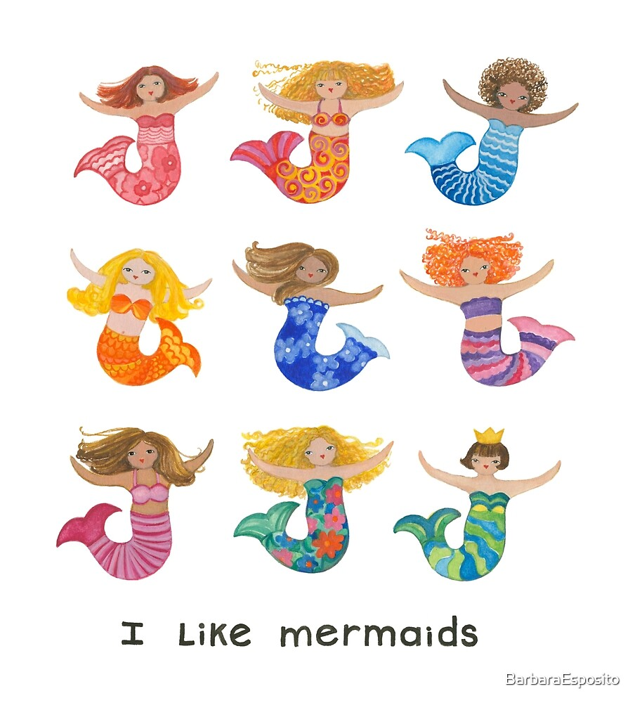 Mermaids by BarbaraEsposito