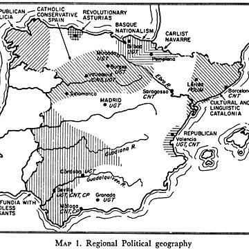 Spanish Republic / Civil War Map by Talierch
