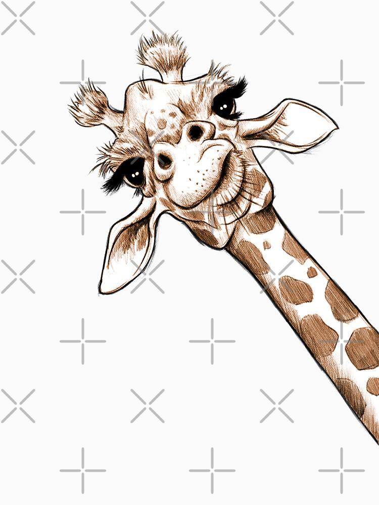 Sketch Giraffe Art by JonThomson