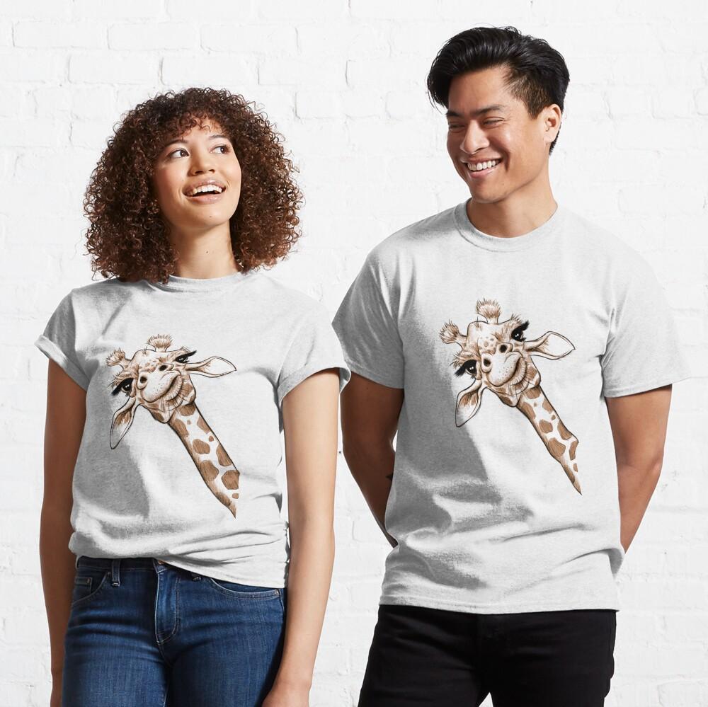 Sketch Giraffe Art Classic T-Shirt