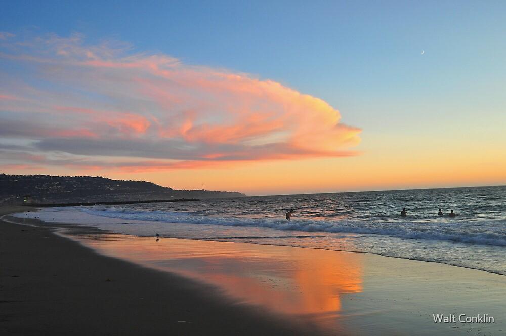 End of Santa Monica Bay by Walt Conklin