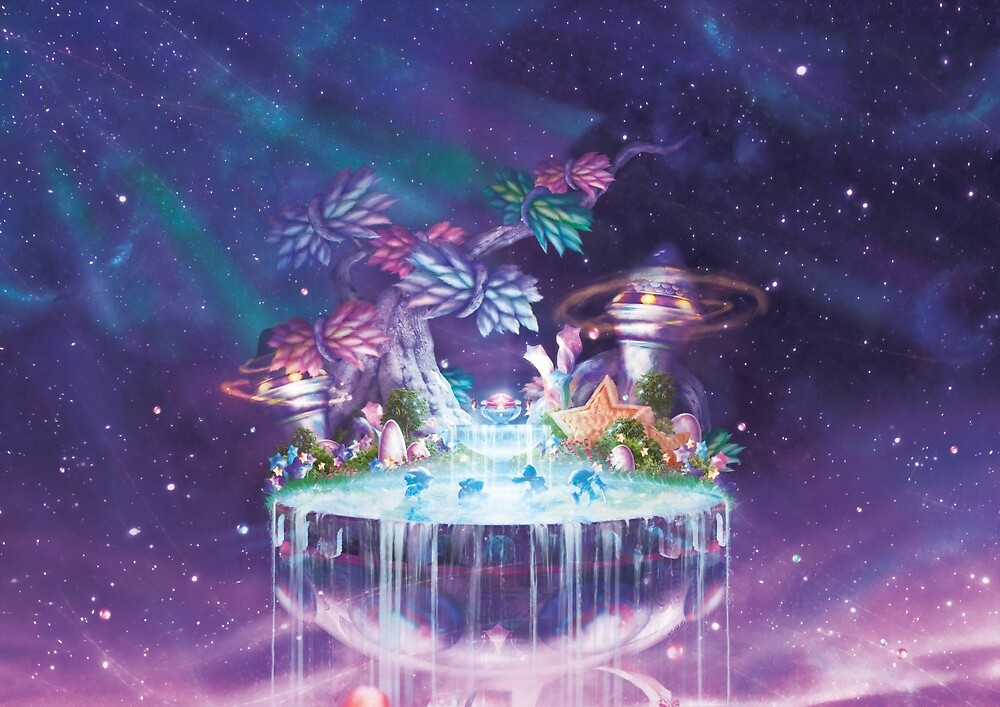 Fountain of Dreams (Only 35 prints!) by orioto