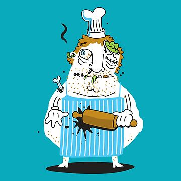 Master Chef Zombie  by jumpy