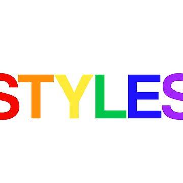 rainbow styles by allysdesigns