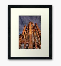 Manchester Unity Building 3 Framed Print