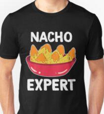 Awesome Expert Tshirt Design NACHO EXPERT Unisex T-Shirt