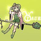Taurus Zodiac Witch by evocaitart