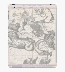 Burritt - Huntington Map of the Constellations or Stars in October, November and December (1856) iPad Case/Skin