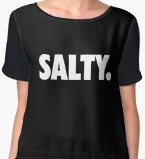 Salty. Chiffon Top