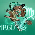 Virgo Zodiac Witch by evocaitart