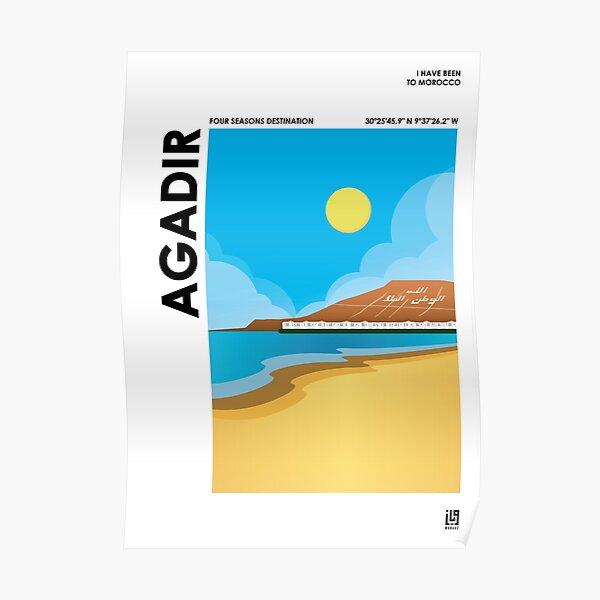 J'AI ÉTÉ AU MAROC - AGADIR Poster