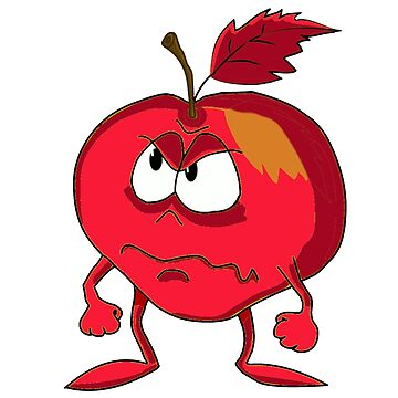 Angry Apple by Schemm