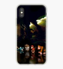 Donkey Kong Country pixel art iPhone Case