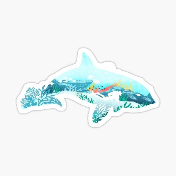Dolphin Dive Sticker