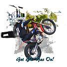 Gas Gas ec300 Stunt Rider by Skye Ryan-Evans