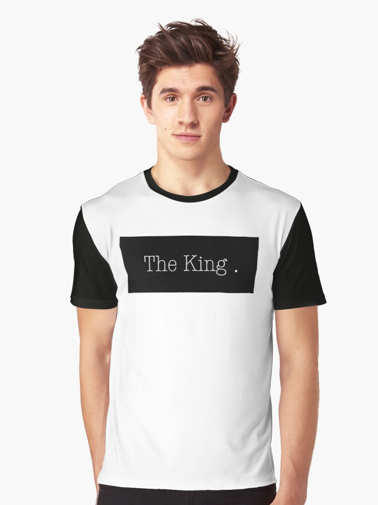 The king Graphic T-Shirt Front