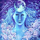 A moon goddess by Corina Chirila