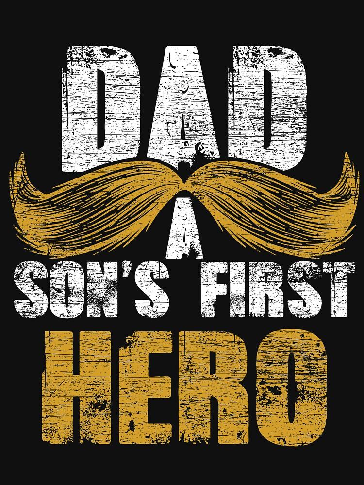 Hero father by GeschenkIdee