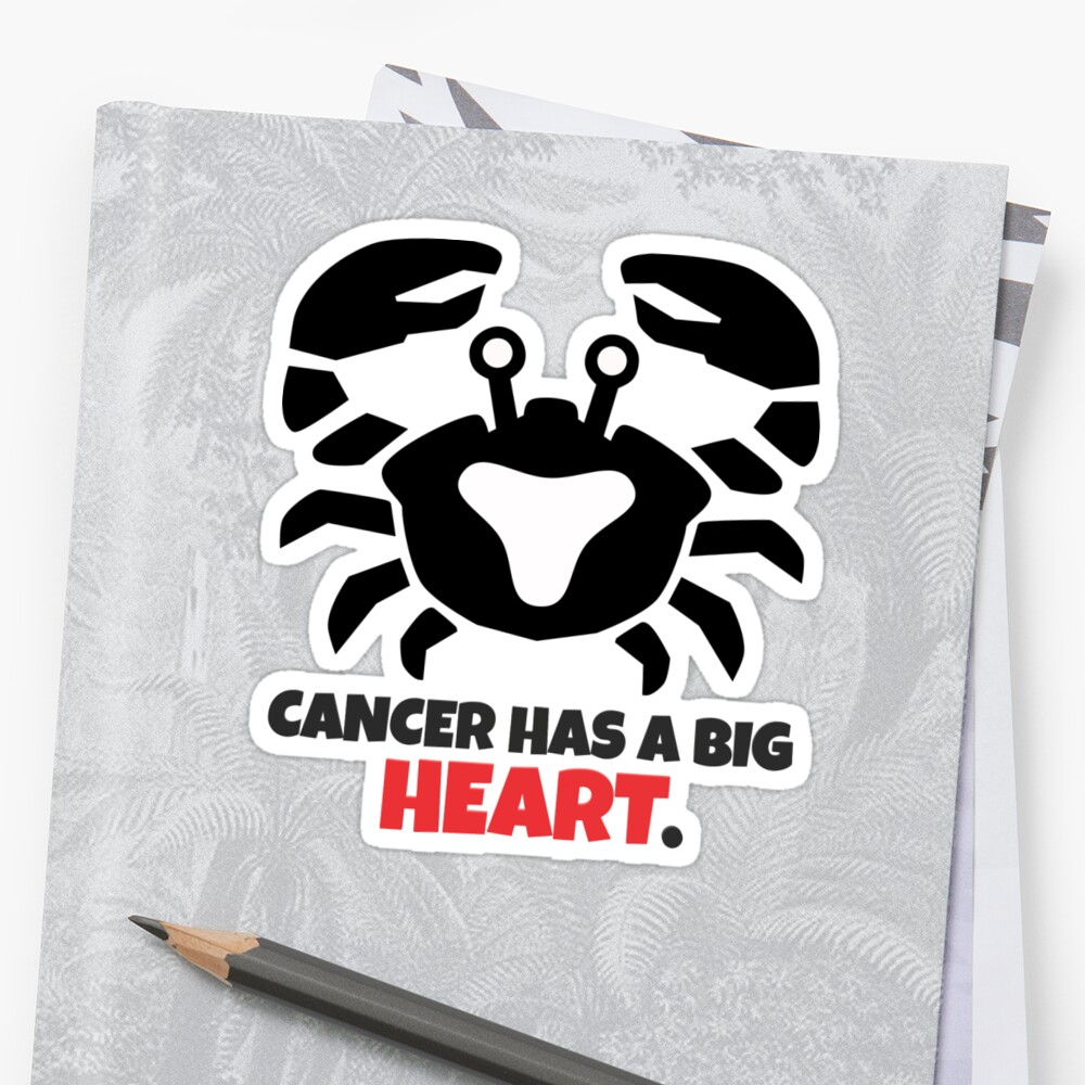 Cancer Has a Big Heart by HiddenStar02
