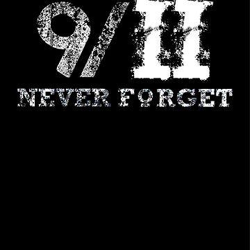 9 11 Twin Tower Fall - never Forget by desmondrigo