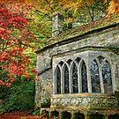 The Gothic Cottage, Stourhead by Amanda White