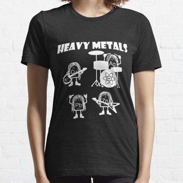 Heavy metals rock, chemistry, physics - periodic table of elements Essential T-Shirt