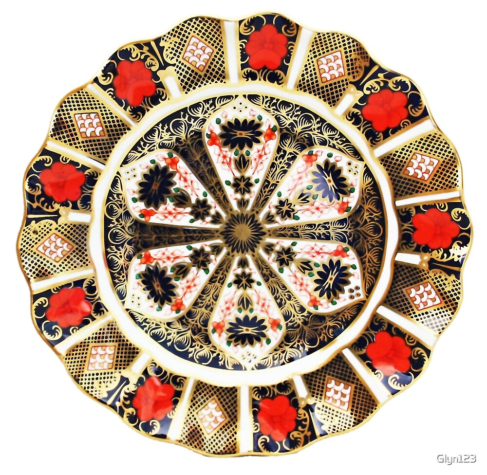Traveller Pavee Gypsy Romany Old Imari 1128 1977 Pattern Crown Derby by Glyn123