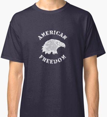 American Freedom Bald Eagle Classic T-Shirt