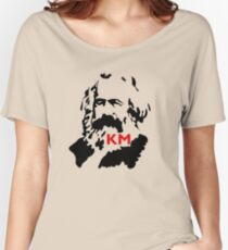 KARL MARX COMMUNIST Women's Relaxed Fit T-Shirt