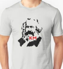 KARL MARX COMMUNIST Slim Fit T-Shirt