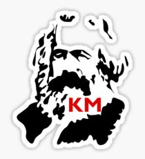 KARL MARX COMMUNIST Sticker