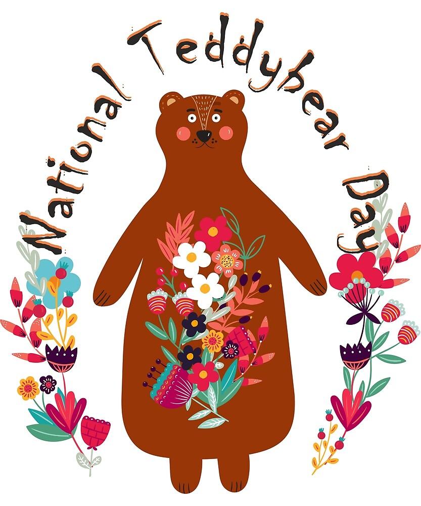 Teddy bear Day by oleo79