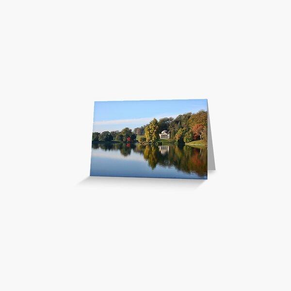 Stourhead Gardens, Wiltshire Greeting Card