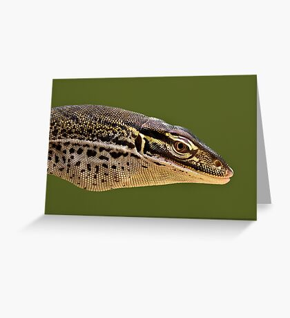 Papuan Sand Monitor Greeting Card