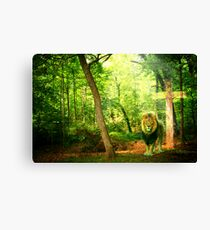 Triumphant King Canvas Print
