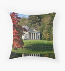 Stourhead Gardens, Wiltshire Throw Pillow
