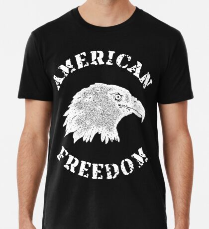 American Freedom Bald Eagle Premium T-Shirt