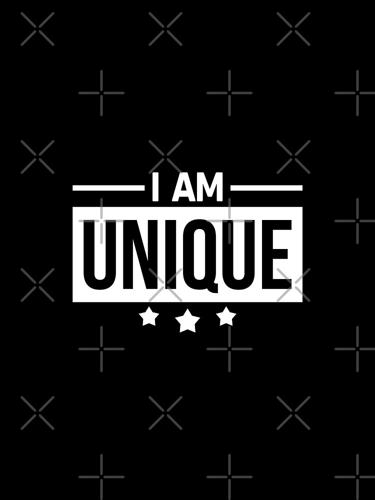 I Am Unique by TheArtism