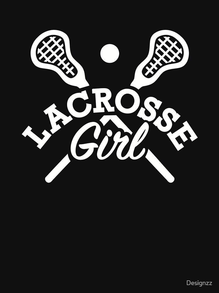 Lacrosse girl by Designzz