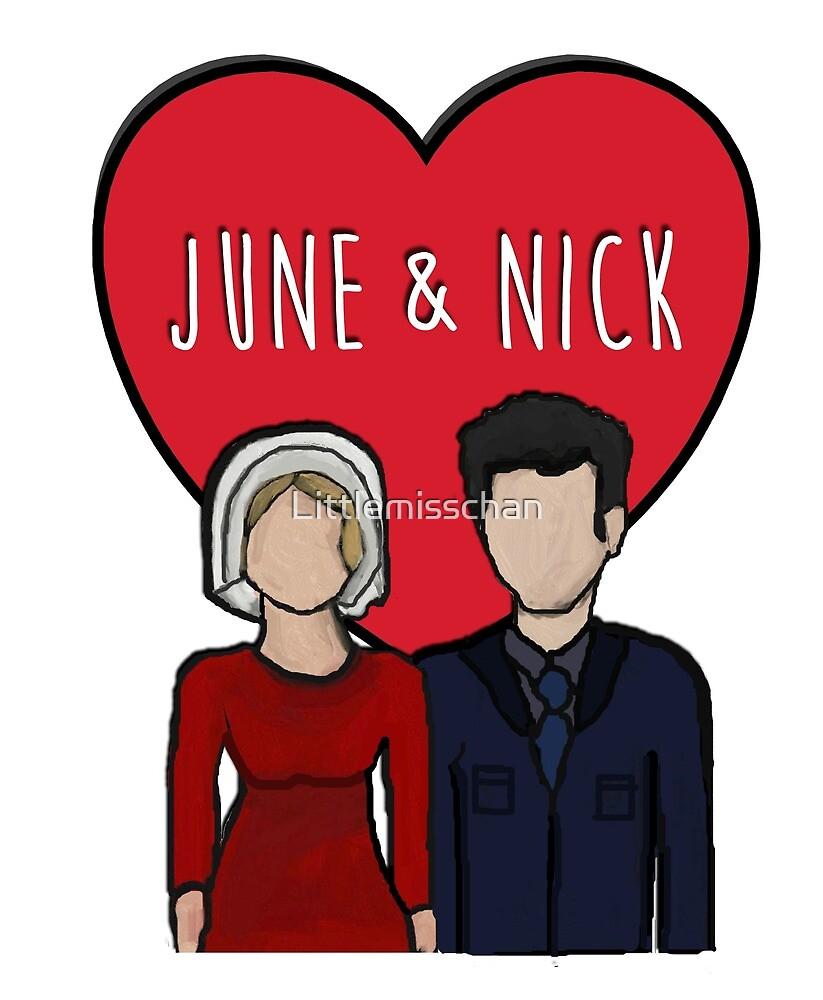 June & Nick by Littlemisschan