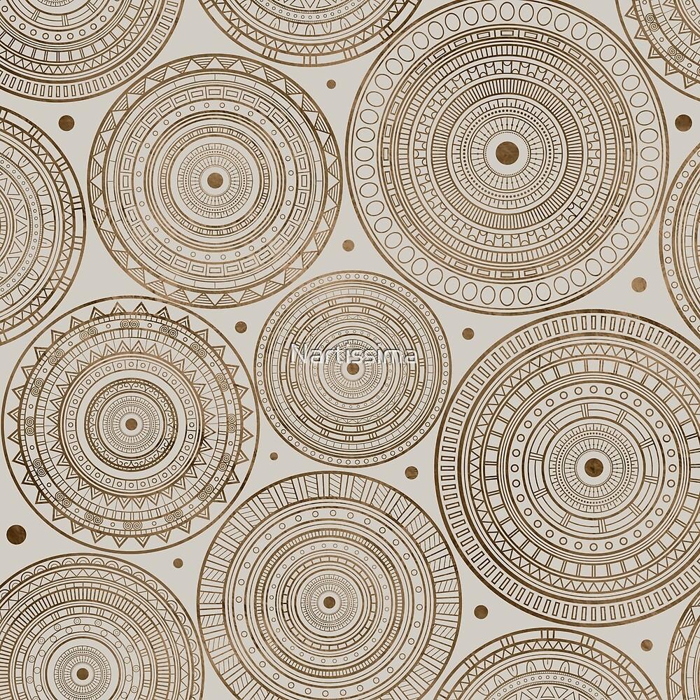 Ethnic Tribal Circular Pattern by Nartissima
