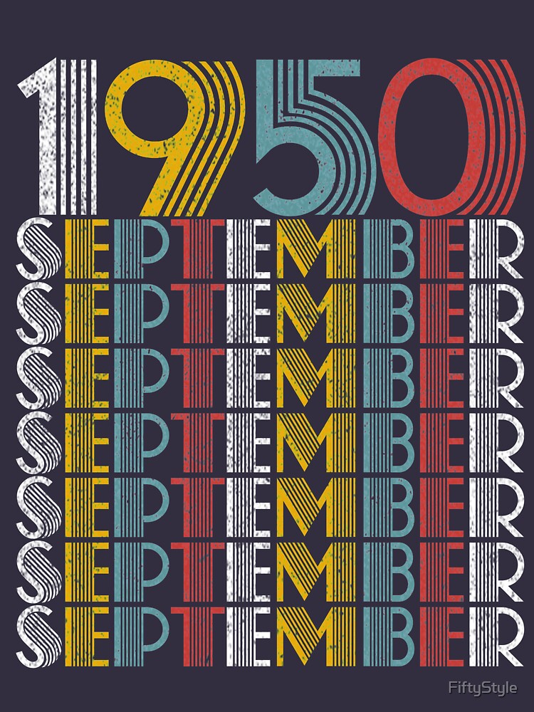 Vintage September 1950 Birthday Gifts by FiftyStyle