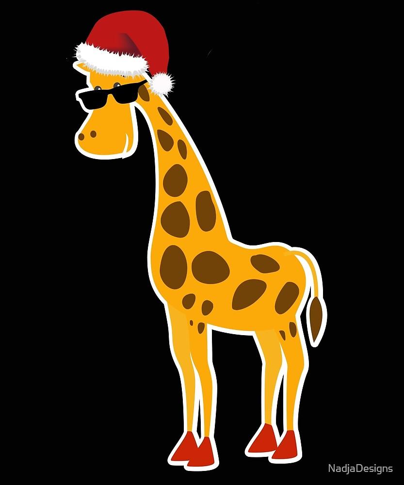 Christmas giraffe gift Christmas present by NadjaDesigns