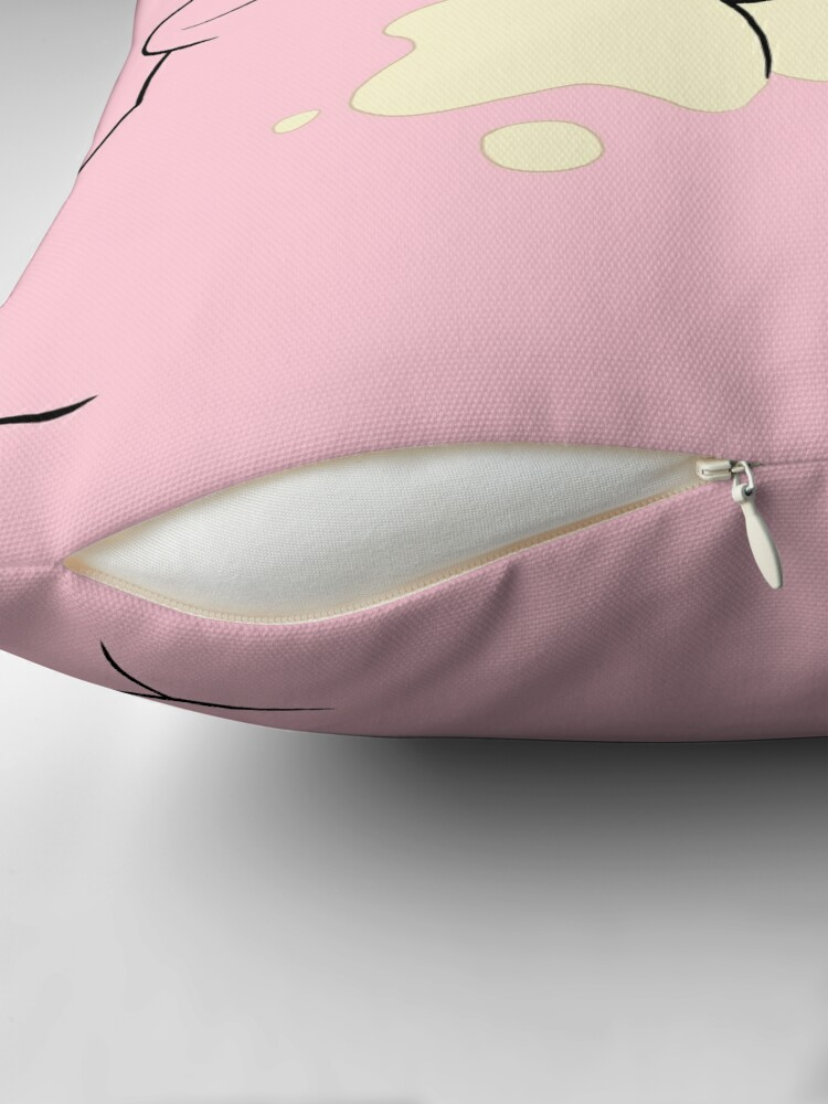 Alternate view of Waddles the Pig From Gravity Falls Throw Pillow