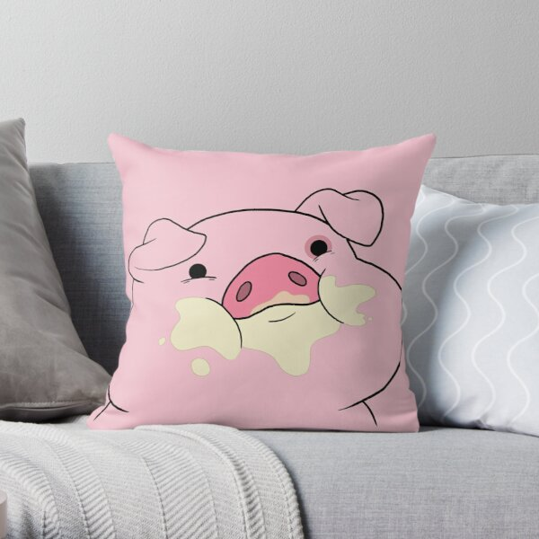 Waddles the Pig From Gravity Falls Throw Pillow
