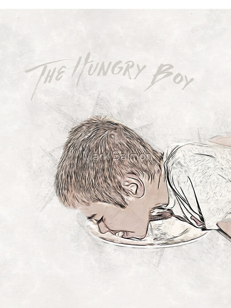 The Hungry Boy by markcsalmon