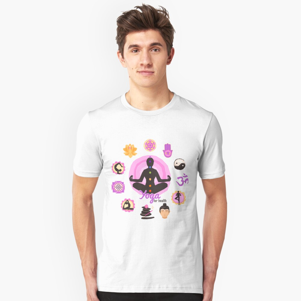 Yoga Pose For Health T Shirt Unisex T-Shirt Front