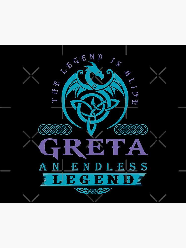 Legend T-shirt - Legend Shirt - Legend Tee - GRETA An Endless Legend by wantneedlove