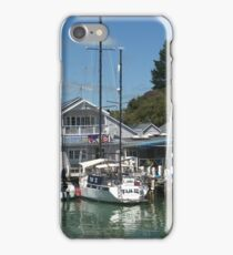 Quaint Little Opua,  Bay of Islands,  New Zealand. iPhone Case/Skin