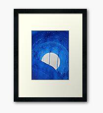 Bad Moon Rising original painting Framed Print